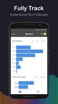 Followers Tracker & Insights apk screenshot