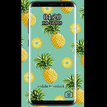 Cute Pineapple Wallpaper HD Screenshot 2