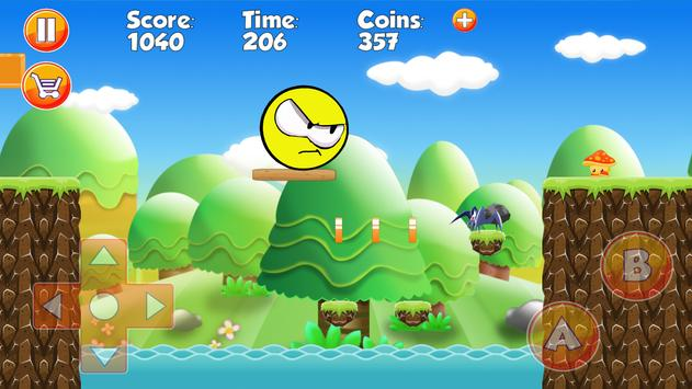 Pineapple Ball : Yellow World apk screenshot