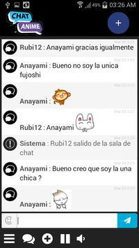 Chat Anime apk screenshot