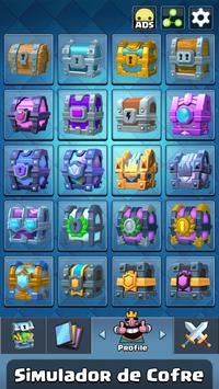 Chest Simulator for Clash Royale poster
