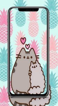 Cute Pusheen Cat Wallpaper HD Poster