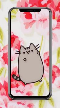Cute Pusheen Cat Wallpaper HD screenshot 1