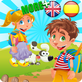 Learn Spanish English for Kids icon
