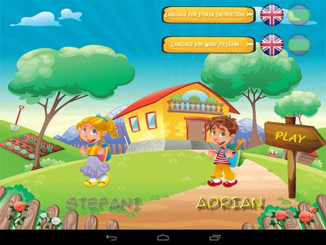 Learn Spanish English for Kids screenshot 1