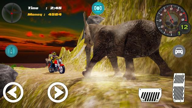 Hill Climb Bike Taxi Rider screenshot 3