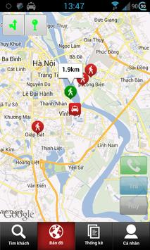 Pingtaxi Driver (cho lái xe) screenshot 2