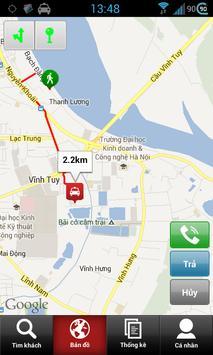 Pingtaxi Driver (cho lái xe) screenshot 3