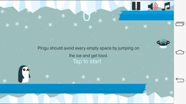 Jumping Pingu screenshot 2