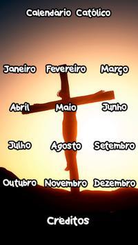 Calendário Católico poster