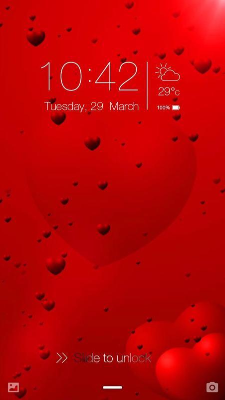 Love Romance Live Wallpaper Lock Screen poster ...