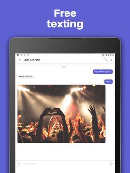 Text free - Free Text + Call apk تصوير الشاشة