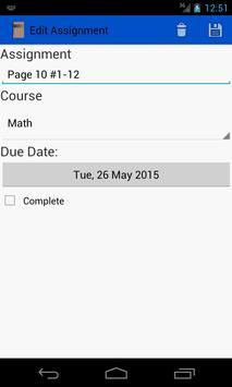 Student Agenda screenshot 1
