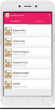 Pinjaman BNI terbaru 2018 poster