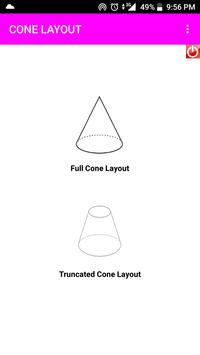 Cone Layout poster