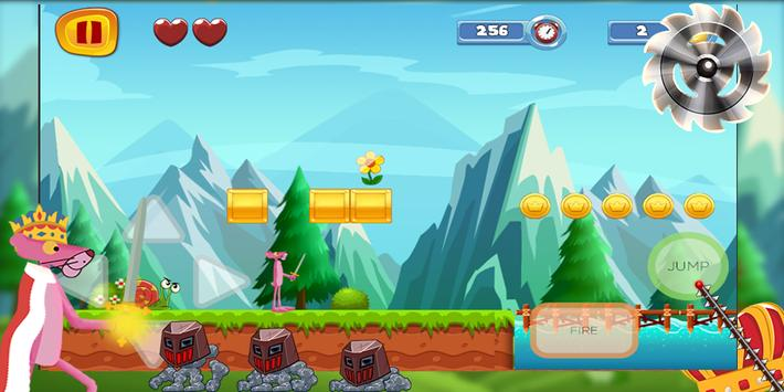 king pink adventure - run and jump screenshot 4