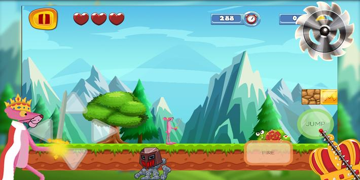king pink adventure - run and jump screenshot 3