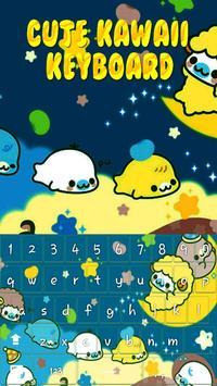 Cute Kawaii Keyboard Theme screenshot 3