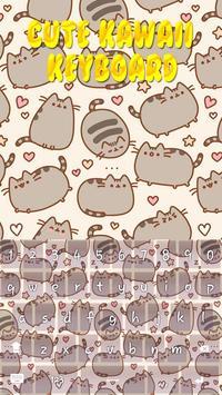 Cute Kawaii Keyboard Theme screenshot 16