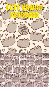 Cute Kawaii Keyboard Theme screenshot 4