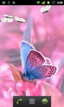 pink butterfly wallpapers apk screenshot
