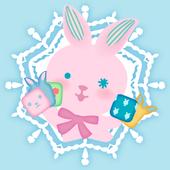 Pink Bunny Toy Theme icon