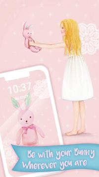 Pink Bunny Toy Theme screenshot 4