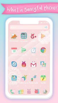 Pink Bunny Toy Theme screenshot 2