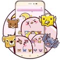 Pink Magic Animal Icon Theme