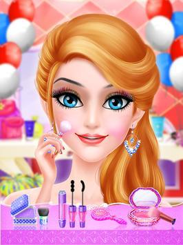 Pink Princess Makeover Salon screenshot 2
