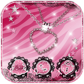 Pink Zebra Diamond Jewelry Theme icon