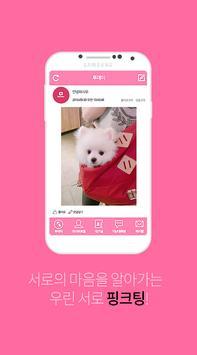 핑크팅 : 영상채팅,화상채팅,소개팅,실시간채팅,랜덤채팅 apk screenshot
