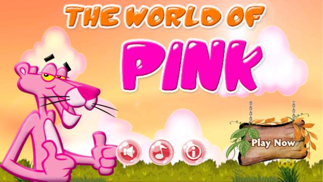 Pink World of Wild Panther poster