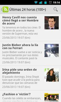 PINKY News Revista Corazon RSS apk screenshot