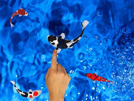 Koi Fishing Fingers Game apk screenshot