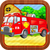 Firefighter Puzzle for Toddler icon