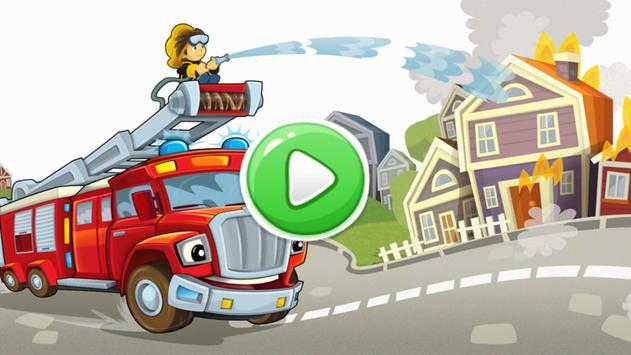 Firefighter Puzzle for Toddler poster