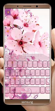 Pink Flowers keyboard screenshot 6