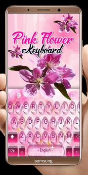 Pink Flowers keyboard screenshot 8