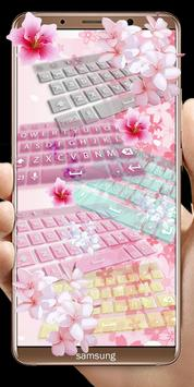 Pink Flowers keyboard screenshot 13