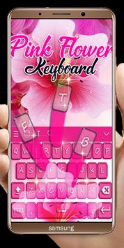 Pink Flowers keyboard screenshot 1