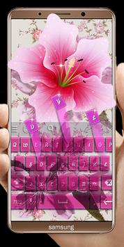 Pink Flowers keyboard screenshot 21