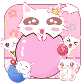 Cute Kitty Pink icon