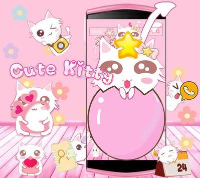 Cute Kitty Pink screenshot 1