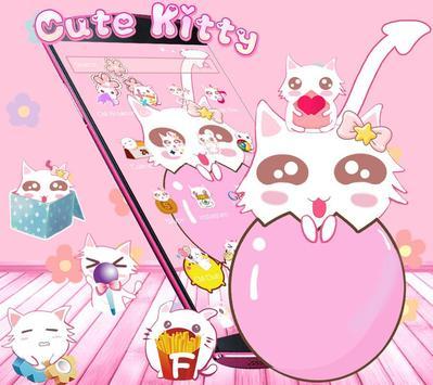 Cute Kitty Pink screenshot 2