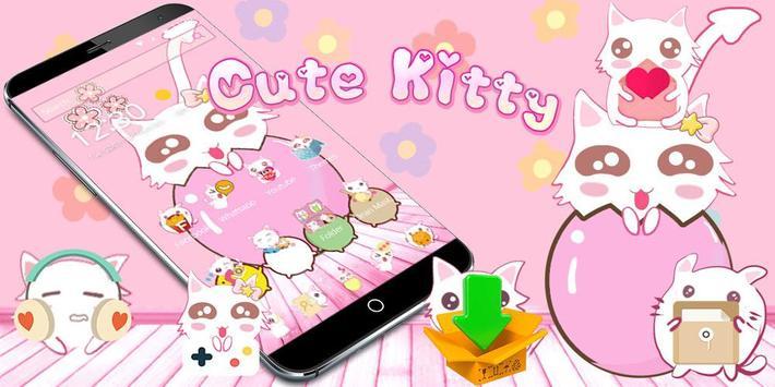 Cute Kitty Pink screenshot 3