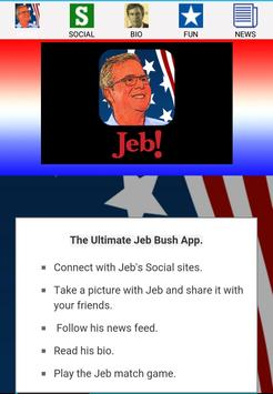 Ultimate Jeb Bush App poster
