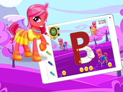 ABC Kids Cursive-Pinkiepie screenshot 3