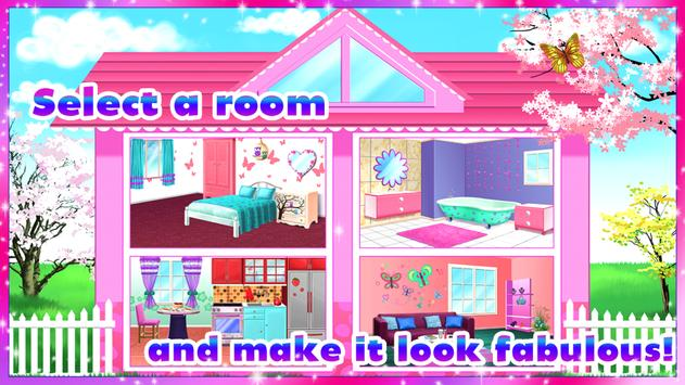 🏡 Girly House Decorating Game स्क्रीनशॉट 12