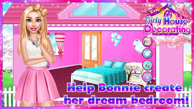 🏡 Girly House Decorating Game स्क्रीनशॉट 4